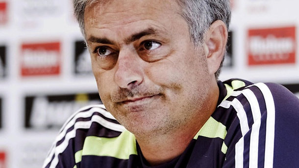 Real Madrid: Jose Mourinho will zurück in die Premier League. Jose Mourinho will nach Real Madrid zurück in die Premier League. (Quelle: dpa)
