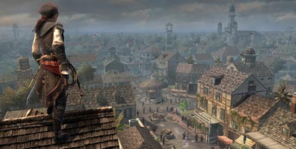 Assassin's Creed 3 Liberation: Mit Schirm, Charme und Machete. Assassin's Creed 3 Liberation (Quelle: Ubisoft)