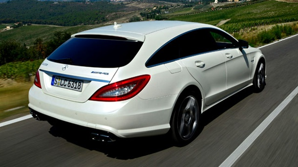 Mercedes CLS 63 AMG Shooting Brake: Die Sportskanone . Mercedes CLS 63 AMG Shooting Brake im Test von auto.t-online.de (Quelle: Hersteller)