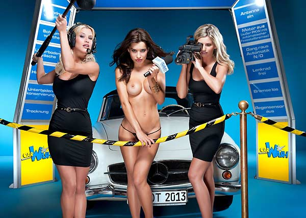 Hot Carwash Kalender 2013 (Quelle: Hersteller)