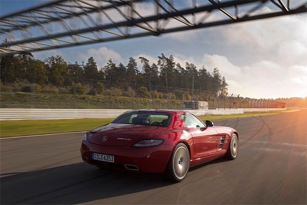 Mercedes SLS AMG GT (Quelle: Press Inform)