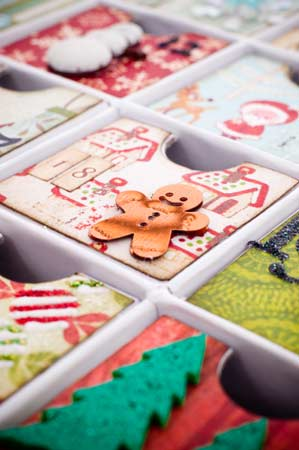 Selbstgebastelter Adventskalender (Quelle: Thinkstock by Getty-Images)