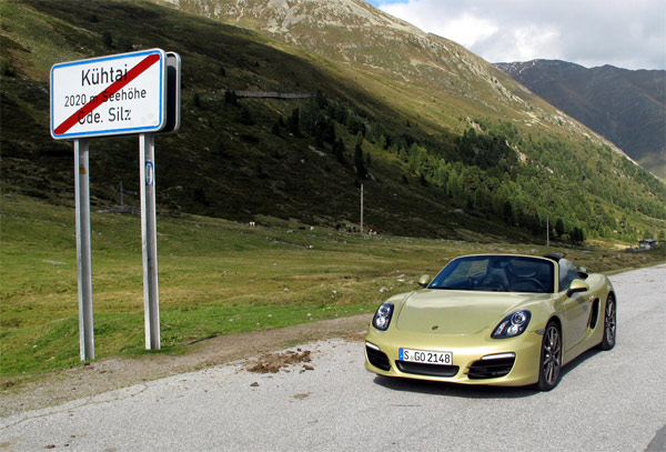 Porsche Boxster S (Quelle: Press Inform)