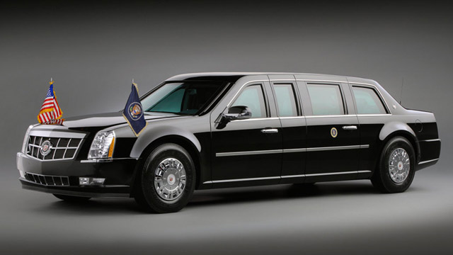 Cadillac Number One Obamas Pr 228 Sidentenlimousine
