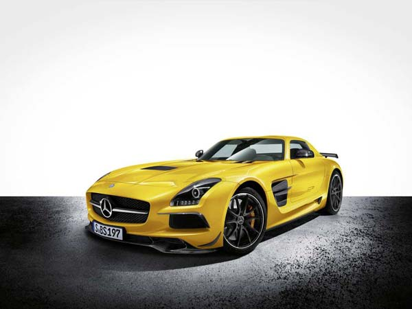 Mercedes SLS AMG Black Series (Quelle: Press Inform)