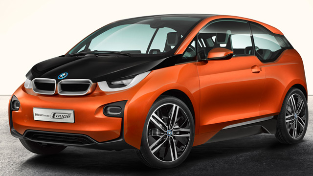 bmw i3 concept coup flottes elektroauto. Black Bedroom Furniture Sets. Home Design Ideas