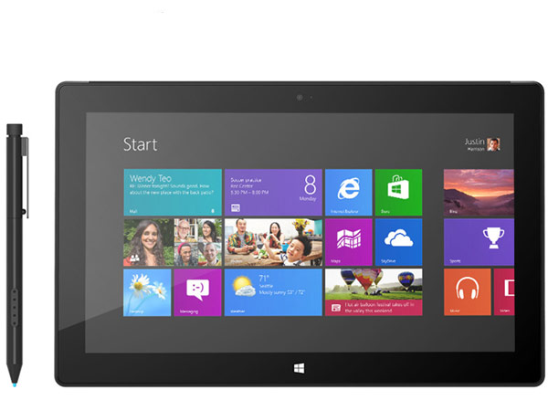 Microsoft Tablet Surface Pro mit Windows 8 (Quelle: Microsoft)