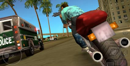 """GTA: Vice City"": Rockstar publiziert ""Love Fist""-Hardrock-Album. GTA: Vice City 10th Anniversary Edition (Quelle: Rockstar Games)"
