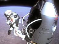Felix Baumgartner (Quelle: dpa/Red Bull Stratos)