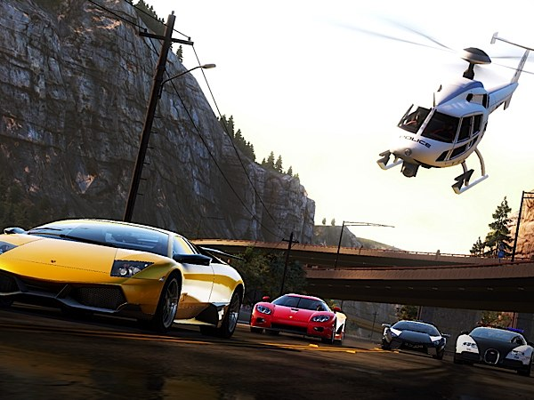 Vollbremsung für schnelle Action: Need for Speed Most Wanted (Quelle: Electronic Arts)