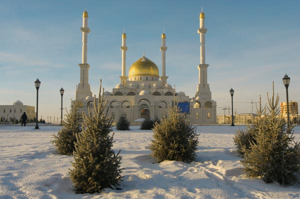 Astana im Winter (Quelle: Thinkstock by Getty-Images)