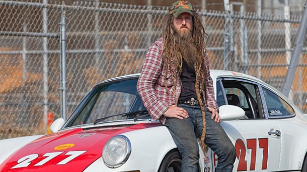 Magnus Walker: Porsche-Sammler aus Passion. Porsche-Sammler Magnus Walker (Quelle: Press Inform)