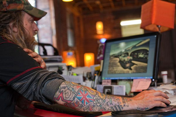Porsche-Sammler Magnus Walker (Quelle: Press Inform)