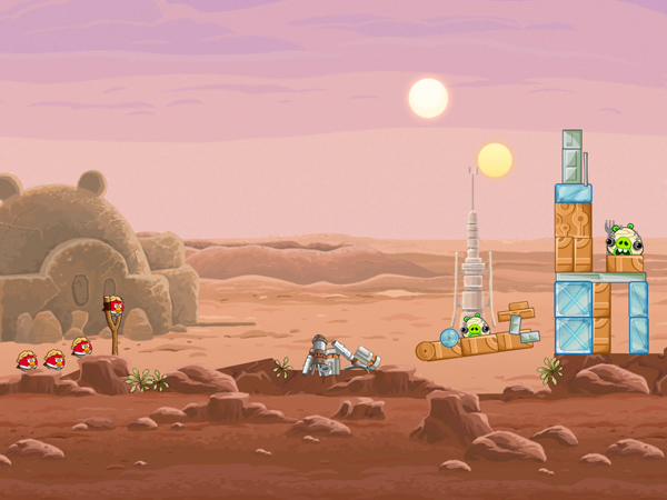 Angry Birds: Star Wars HD (Quelle: Rovio Entertainment)