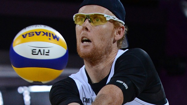 Beachvolleyball-Olympiasieger Jonas Reckermann beendet seine Karriere. Jonas Reckermann zieht sich aus dem aktiven Beachvolleyball zurück. (Quelle: dpa)