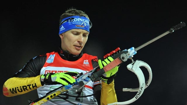 Biathlon: Andreas Birnbacher & Co. in Ruhpolding chancenlos. Andreas Birnbacher (Quelle: dpa)