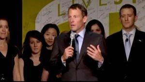 Lance Armstrong gesteht Doping. (Screenshot: Reuters)