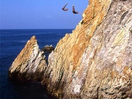 Cliffdiving in Acapulco (Quelle: imago images/NBL Bildarchiv)