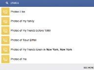 Graph Search: Fotosuche (Quelle: Facebook)