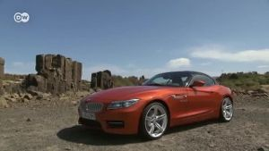Facelift für BMW Z4. (Screenshot: Deutsche Welle)