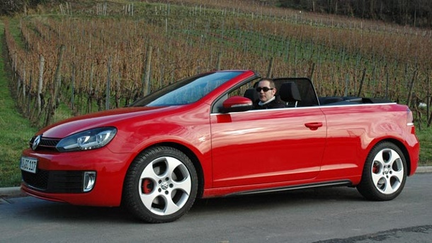 vw golf gti cabrio autotest der heizt ihnen richtig gut ein. Black Bedroom Furniture Sets. Home Design Ideas