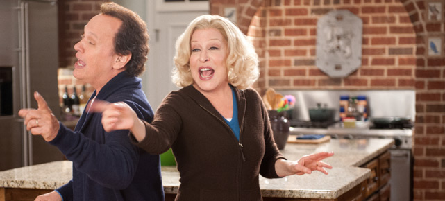 Die Chemie stimmt: Billy Crystal und Bette Middler in Hochform (Quelle: Fox)