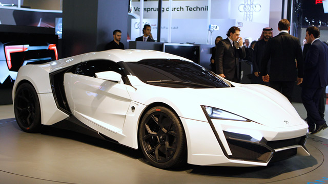 lykan hypersport supersportwagen aus beirut. Black Bedroom Furniture Sets. Home Design Ideas