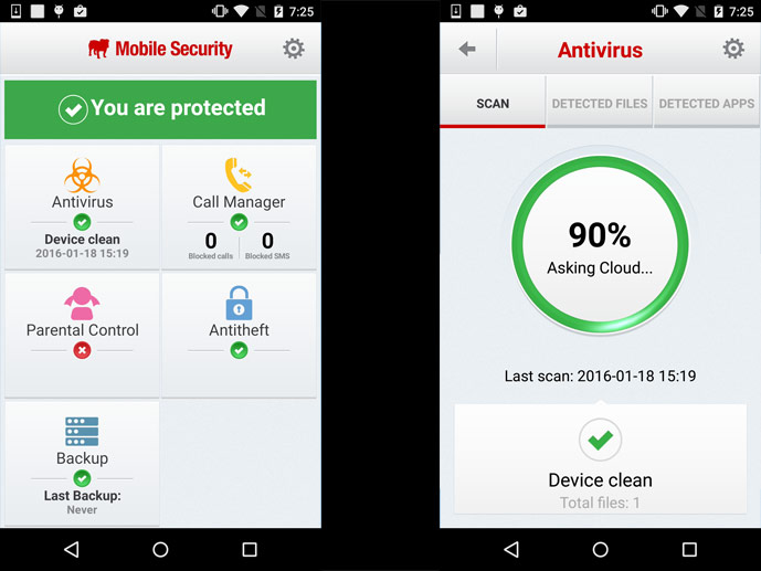BullGuard Mobile Security (Quelle: Hersteller)