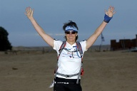 Trailrunnerin Claudia Gerling. (Quelle: Pierluigi Benini)