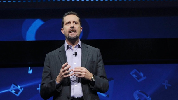 PS4: Sony-Boss Andrew House über PS4-News, Release und Hardware. Andrew House auf dem Playstation Meeting 2013 (Quelle: dpa)