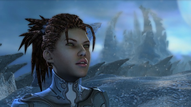 Starcraft 2: Heart of the Swarm mit Trainings-Modus für Multiplayer. Starcraft 2: Heart of the Swarm (Quelle: Blizzard)