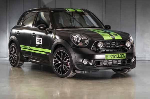 "Mini John Cooper Works Countryman All 4 ""Dakar Winner 2013"" (Quelle: Hersteller)"