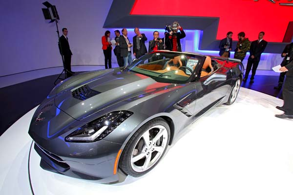 Chevrolet Corvette Stingray C7 Cabrio (Quelle: Automedienportal)