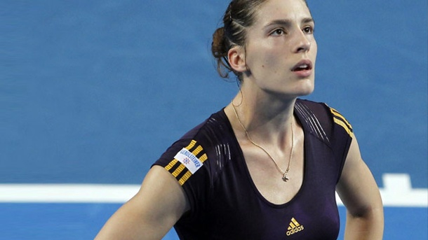 Andrea Petkovic schafft es in Indian Wells nicht ins Hauptfeld . Das Comeback von Andrea Petkovic endete in der zweiten Qualifikationsrunde des Tennis-Turniers in Indian Wells. (Quelle: imago/Action Plus)