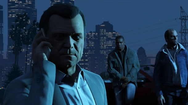 GTA 5: Rockstar Games will Anfang 2015 mit Heist-Feature loslegen. Grand Theft Auto 5 (Quelle: Rockstar Games)
