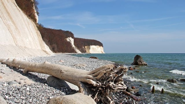 Nationalpark Jasmund. Nationalpark Jasmund: Kreidesteilküste an der Ostsee. (Quelle: Thinkstock by Getty-Images)