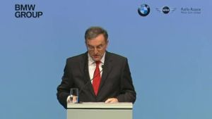 BMW erwartet 2013 stagnierenden Gewinn (Screenshot: Reuters)