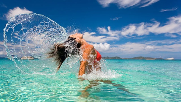 Wassertemperaturen vom 24. April: Mittelmeer weiter unter 20 Grad. Aktuelle Wassertemperaturen (Quelle: Thinkstock by Getty-Images)
