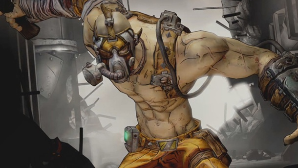 "Borderlands 2: DLC ""Ultimate Vault Hunter"" ist da. Borderlands 2: Der neue Charakter ""Krieg"" (Quelle: 2K Games)"