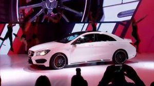 Mercedes CLA 45 AMG (Screenshot: t-online)