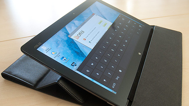 asus vivotab im test 11 zoll tablet mit windows 8. Black Bedroom Furniture Sets. Home Design Ideas