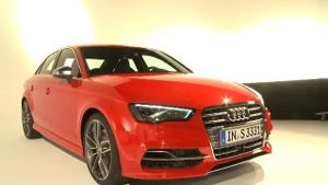 Audi A3 Limousine feiert Weltpremiere (Screenshot: United Pictures)