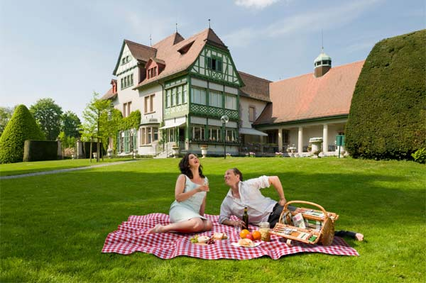 romantisches picknick im garten der villa langmatt mit anschlie endem museumsbesuch 1. Black Bedroom Furniture Sets. Home Design Ideas