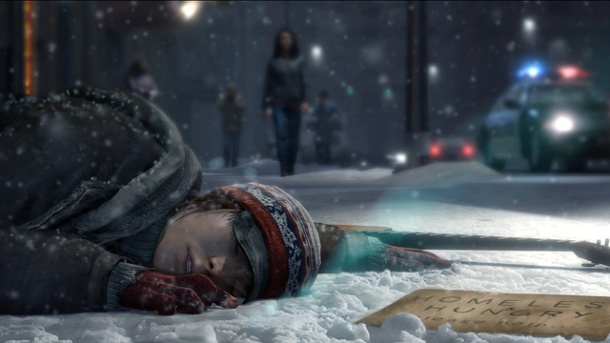 Beyond: Two Souls - Emotionen statt Explosionen. Beyond: Two Souls Action-Adventure von Quantic Dream für PS3 (Quelle: Quantic Dream)