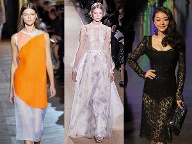 Sommermode 2013 bei Stella McCartney, Valentino, Dolce & Gabbana (Quelle: imago images/I Images (l), Xinhua (m), Anan Sesa (r))