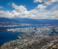 Vancouver: Panorama-Blick. (Quelle: Thinkstock by Getty-Images)