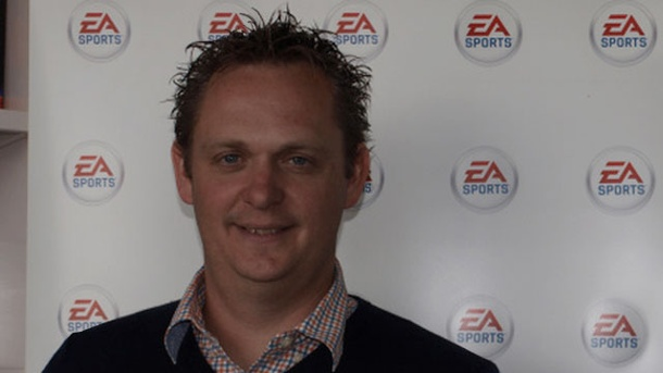 Fifa 14 Interview: Produzent Nick Channon äußert sich zu den Neuerungen. Fifa 14: Interview mit Produzent Nick Channon (Quelle: Medienagentur plassma)