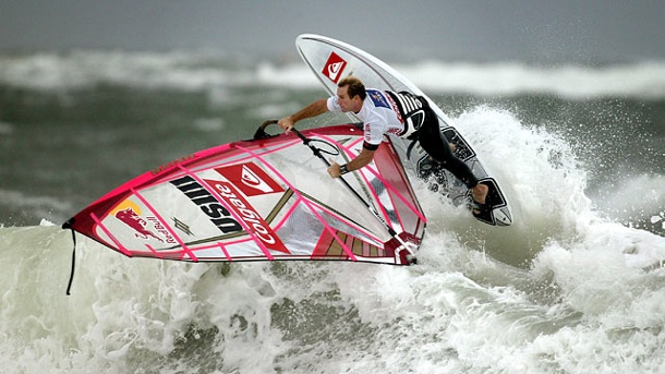 Robby Naish: Legende im Windsurfen wird 50. Windsurf-Legende Robby Naish. (Quelle: dpa)