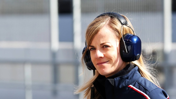 Formel 1: Susie Wolff setzt Williams-Team unter Druck. Jetzt oder nie: Williams-Testfahrerin Susie Wolff will in die Formel 1. (Quelle: imago/Crash Media Group)