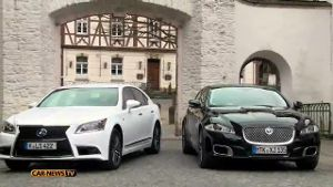 Limousinen-Duell: Lexus LS600h vs. Jaguar XJL (Screenshot: Car-News)